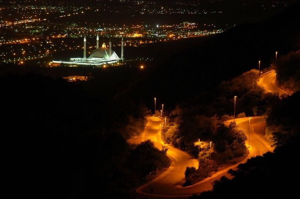 islamabad night view