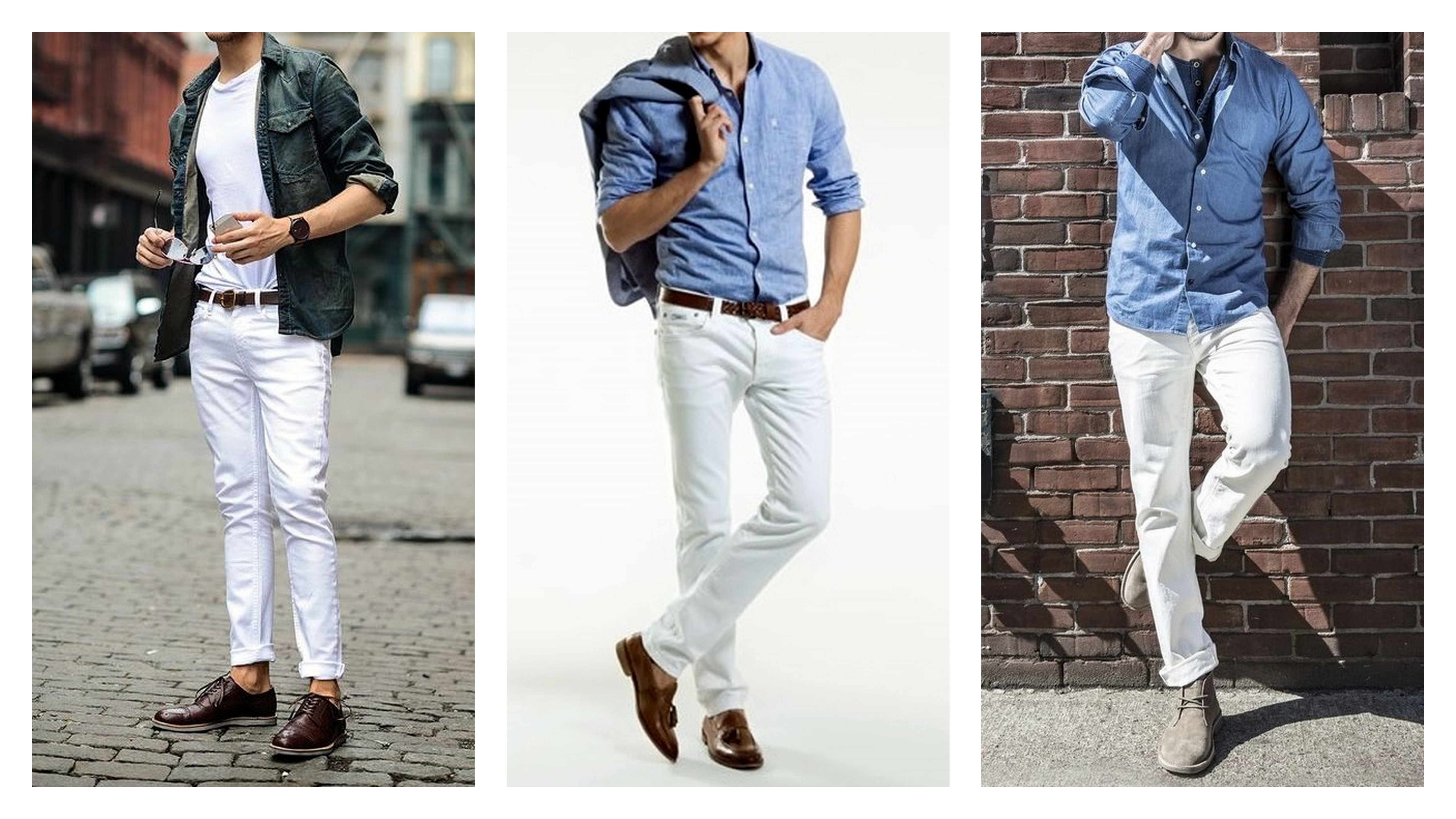 White Jeans with denim 02