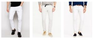 good fit white jeans