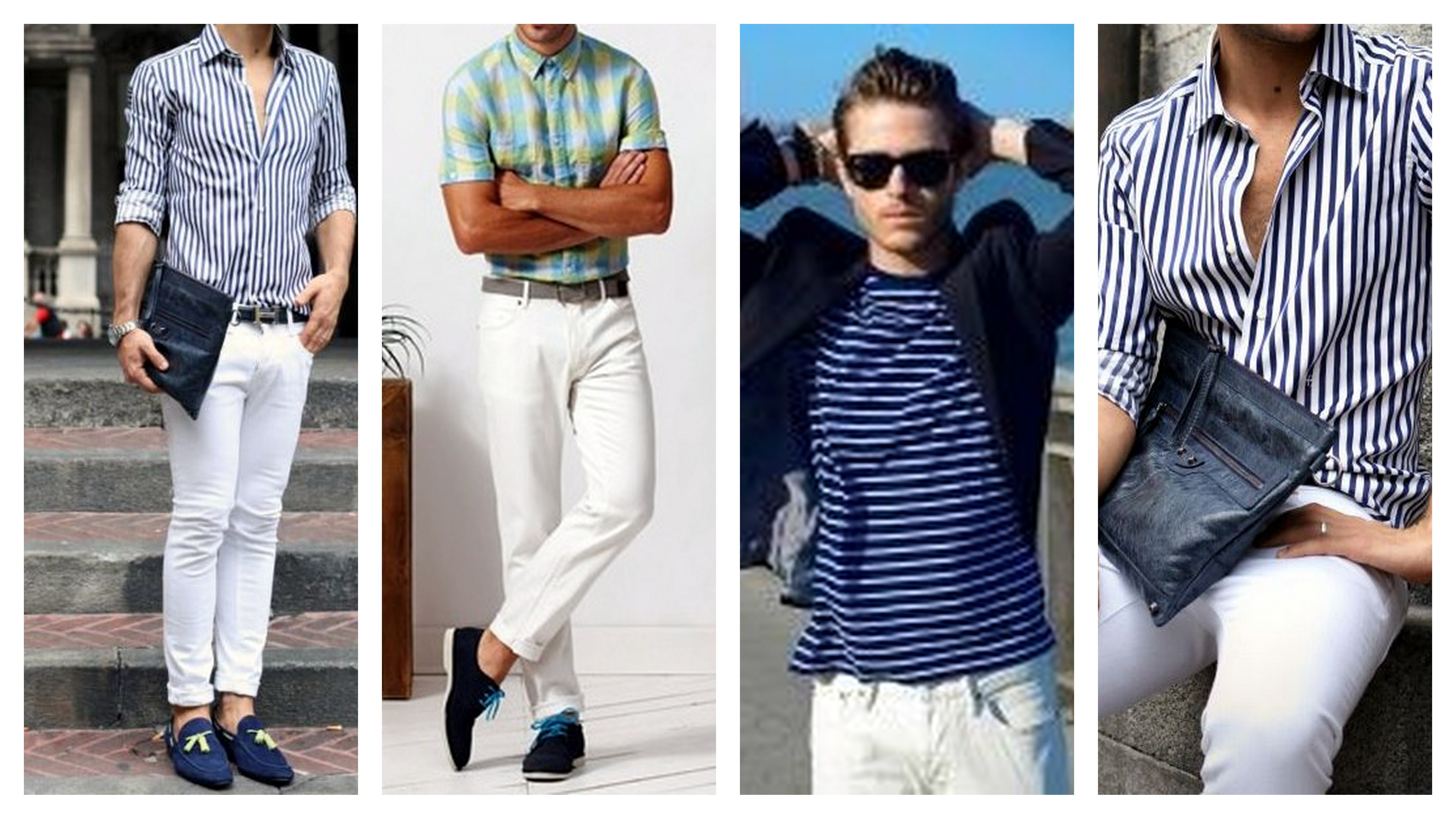 white jeans pattern shirts
