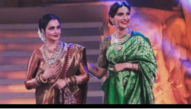 SonamKapoors tribute to the great, ever gorgeous Rekha