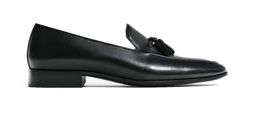 Zara Black Loafers